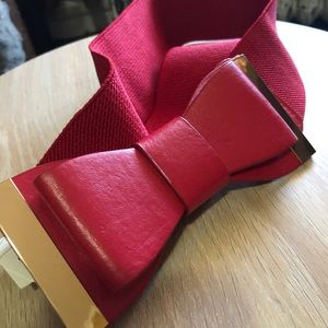 Accessories - Red Bow 3x Belt